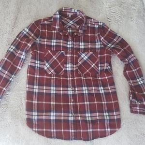 Medium Flannel from Charlotte Russe